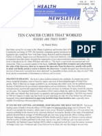 10 Cancer Cures That Worked