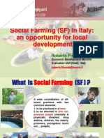 Social Farming (SF) in Italy