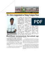 Sumilang Prairies Newsletter