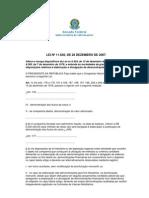 Lei 11.638-2007 - lei das SA