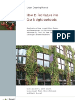 Urban Greening Manual