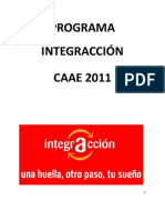 Programa Integraccion