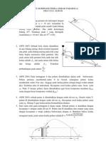 Latihan Olimpiade Fisika Gerak Parabola (dianto einstein)