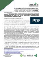 ALERTA APEDeMA-RS SOBRE OS DANOS SOCIOAMBIENTAIS USO CARVÃO MINERAL julho 2011