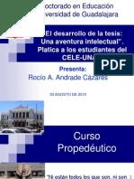 platica CELE UNAM