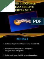BAHASA MELAYU KERTAS 2