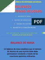 7. Balances en Soluciones Acuosas