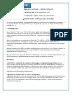 Decreto 3590 Del 28 de Septiembre de 2011