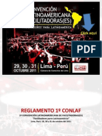 Reglamento CONLAF 2011