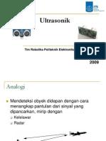 4. Sensor Jarak Ultrasonik