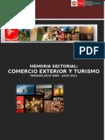 Memoria Sectorial 2006-2011