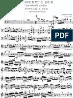 Haydn Cello C Major Sheet Music