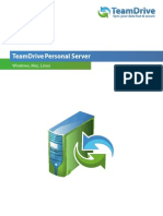 TeamDrive Personal Server Manual En