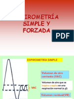 Espirometria y AGA- Asma Bronquial