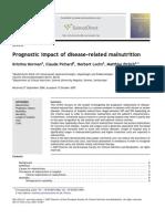 Prognostic Impact of Disease-related Malnutrition