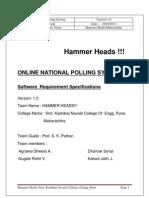 SRS-HammerHeads SKNCOE Pune Maharashtra
