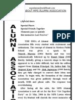 Mps Alumni Association (Info Brochure)