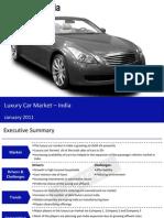 Luxury Car Market in India