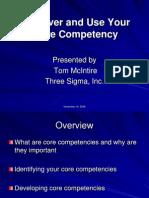 Core Competency Presentation