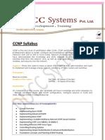 Ccnp Syllabus