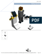 LEGO Wedding Cake Toppers Instructions