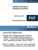 Optimize Oracle on Linux