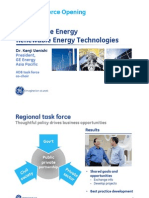 S1 Kenji Uenishi (GE Energy) - Sustainable Energy RE Technology
