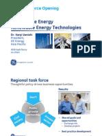 S1 Kenji Uenishi (GE Energy) - Sustainable Energy RE Technology
