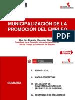 PPT Municipalización de la Promocion del Empleo - 14 junio