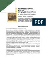 Compressed Earth Blocks Vol1