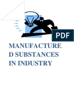 Manufactured Substances in Industry2
