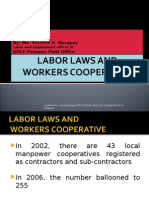 Labor Laws and Cooperative