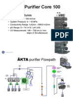 AKTA Purifier Core 100 Training