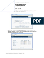 How to View and Interpret the Turnitin Similarity Score and Originality Reports