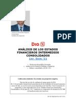 Análisis Estados Financ intermedios 1er sem GRUPO DIA
