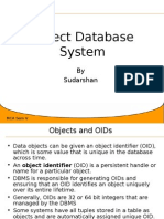 Object Database System-Part2