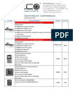 Dooralarm Price List
