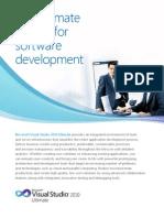 Microsoft Visual Studio 2010 Ultimate Data Sheet_WEB