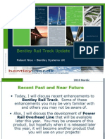 Bentley Rail Track Update
