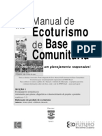 Manual de Ecoturismo de Base Comunitária