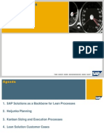 SAP Lean Manufacturing