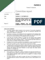 Care Consultation Paper