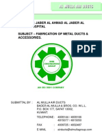 Duct Catalogue Air-Ducts Jaber Hospital