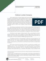 2_Clarkson Lumber Company