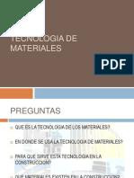 Tecnologia de Materiales Arq