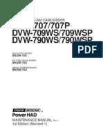 DVW790 Maintenance