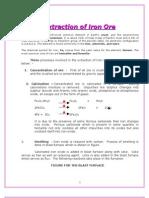 Extraction of Iron Ore(2)(Nehru Garden)