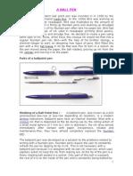 A Ballpoint Pen(Nehru Garden)