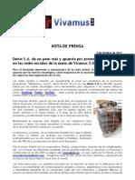 Denix S.A apuesta por las redes sociales de la mano de Vivamus 3.0