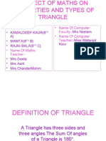 Types of Triangle(Phillour Girls)